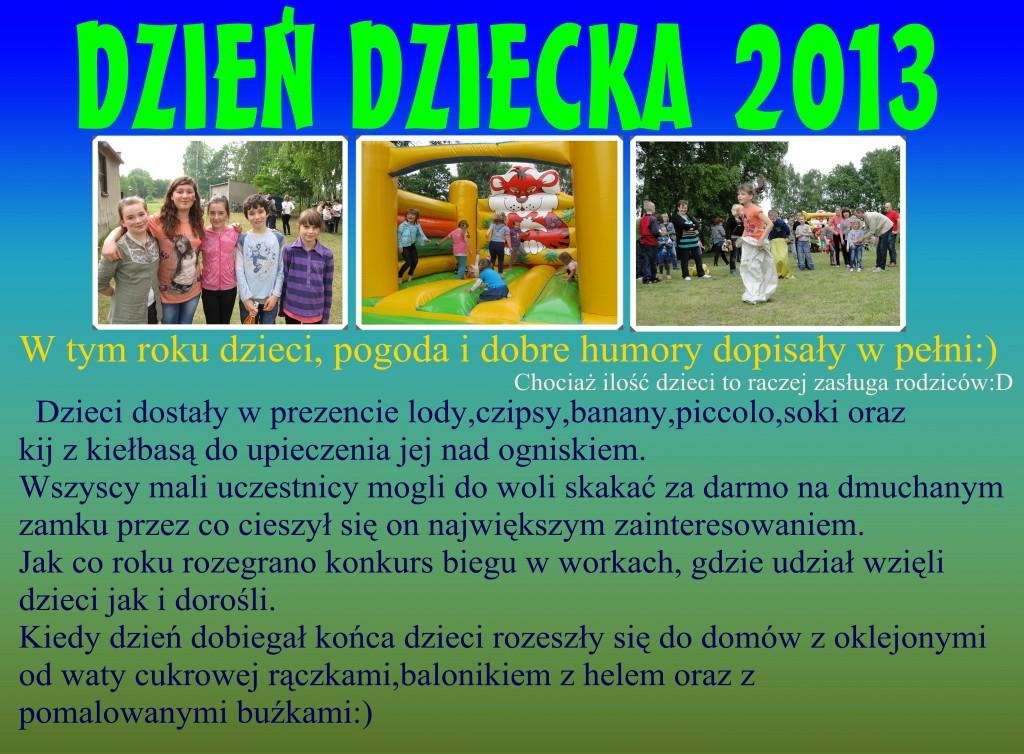Dzień Dziecka 2013