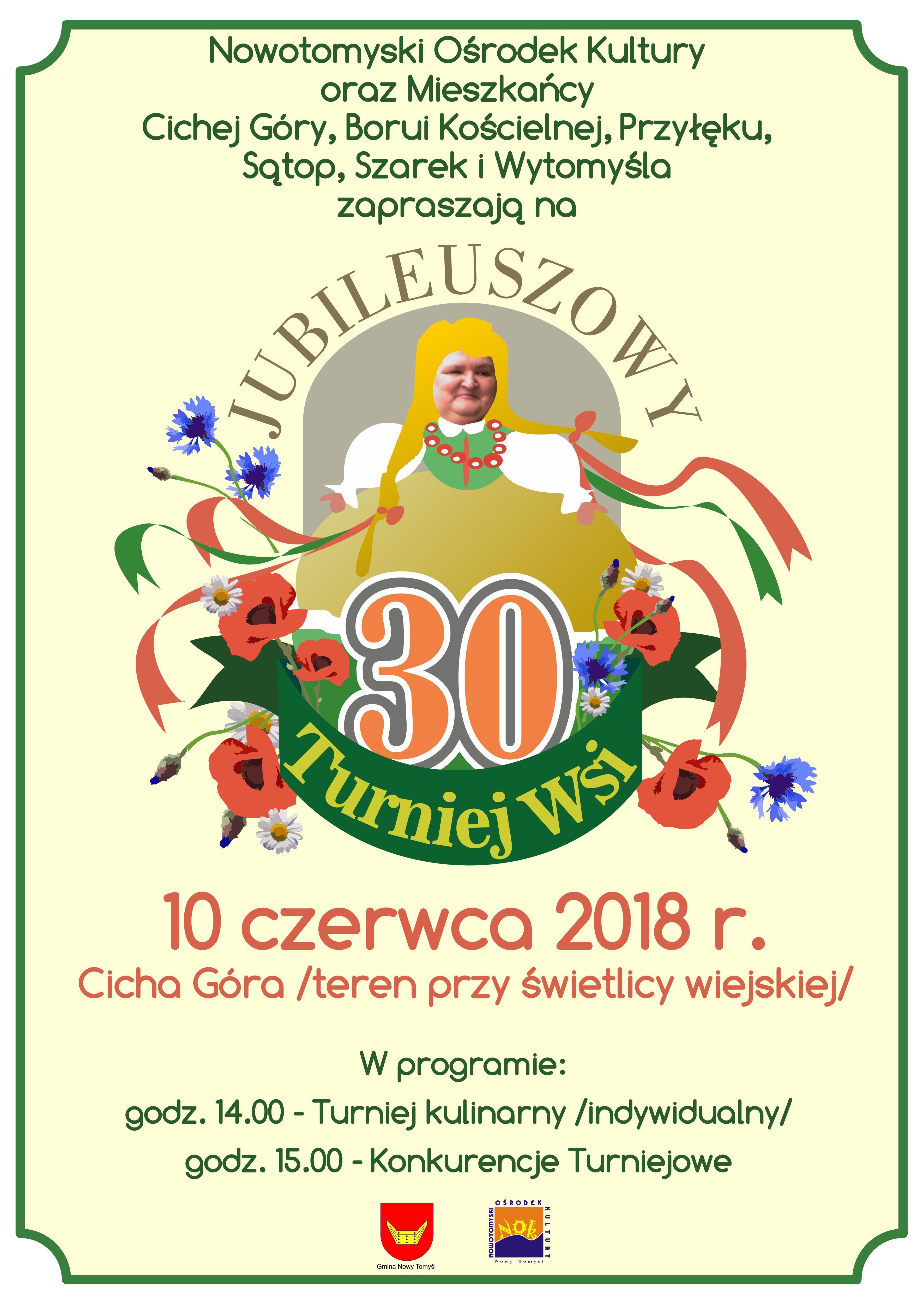 turniej wsi 2018 plakat mm