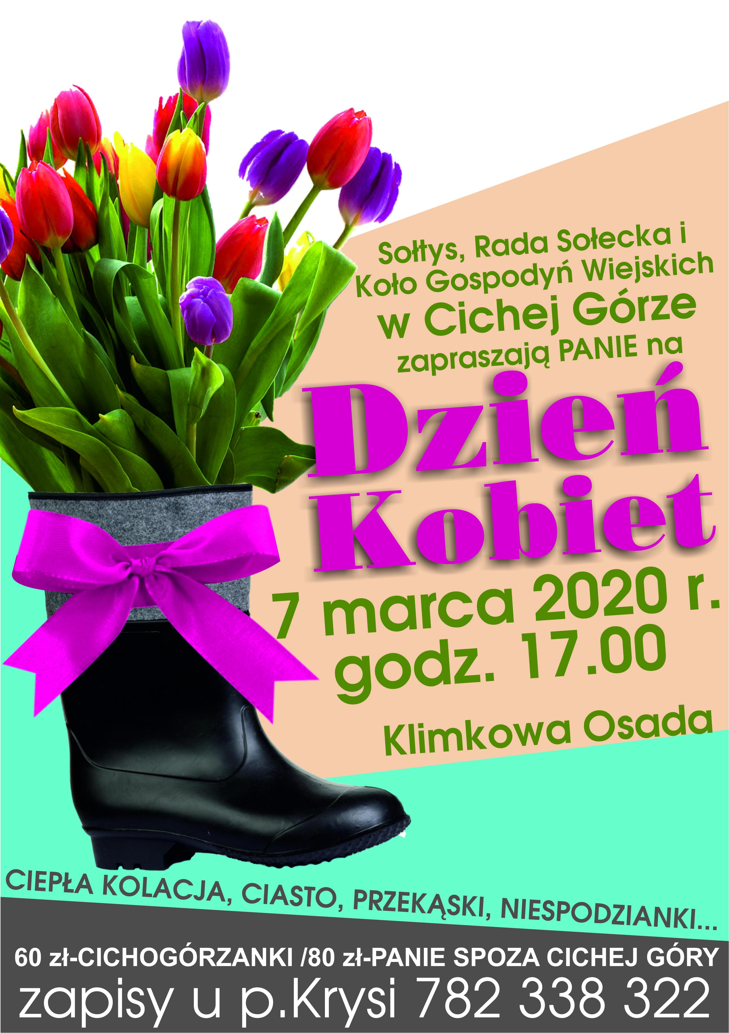 dzień kobiet 2020 Cicha Góra 7 MARCA
